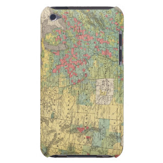 United States Population Increase, 1880-1890 iPod Touch Case-Mate Case