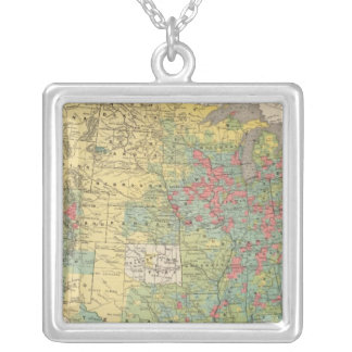 United States Population Increase, 1880-1890 Necklace
