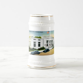 United States Post Office, Hattiesburg, Miss. Beer Stein