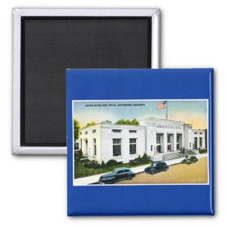 United States Post Office, Hattiesburg, Miss. Fridge Magnet
