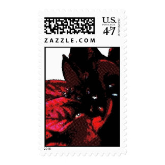 UNITED STATES POSTAGE STAMP BY WASTELANDMUSIC.COM