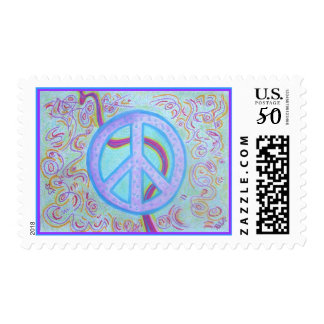 United States Postal stamps -Peace