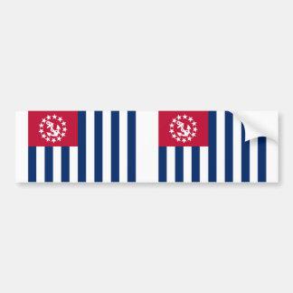 United States Power Squadrons, United States flag Car Bumper Sticker