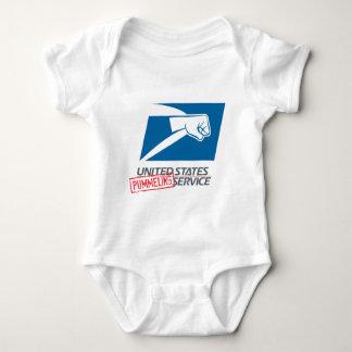 United States Pummeling Service Baby Bodysuit