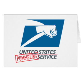 United States Pummeling Service Card