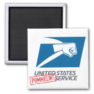 United States Pummeling Service Magnets