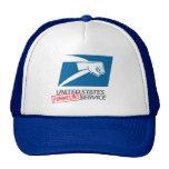 United States Pummeling Service Mesh Hats