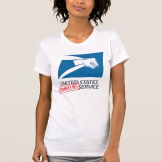 United States Pummeling Service T-Shirt