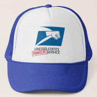 United States Pummeling Service Trucker Hat