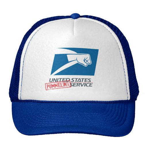 United States Pummeling Service Trucker Hat