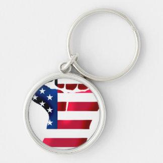 United States Revolution Keychain