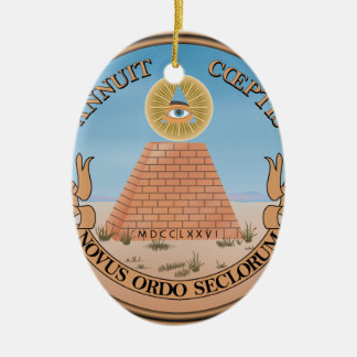 United States Seal Ceramic Ornament