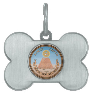 United States Seal Pet Tag