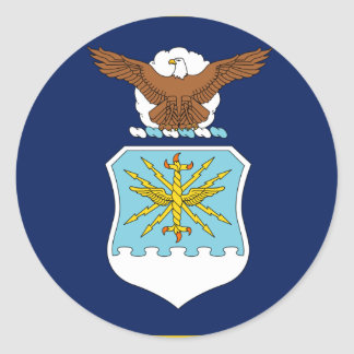 United States Secretary of the Air Force Classic Round Sticker