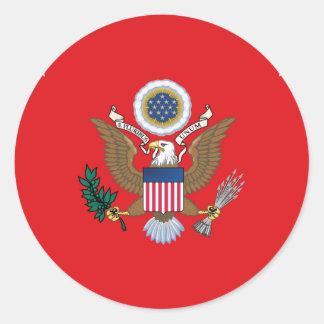 United States Secretary of the Army Classic Round Sticker