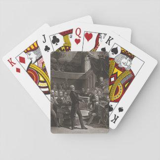United States Senate 1850 Playing Cards