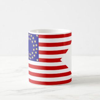 United States Seventh Cavalry Battle Guidon Flag Coffee Mug