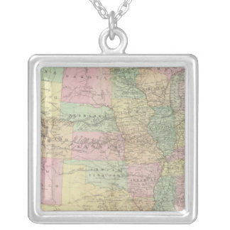 United States Silver Plated Necklace