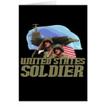 United States Soldier Tshirts and Gifts Card