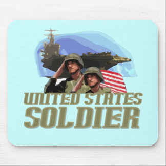 United States Soldier Tshirts and Gifts Mouse Pad
