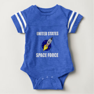 United States Space Force Funny Baby Bodysuit