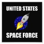 United States Space Force Funny Photo Print