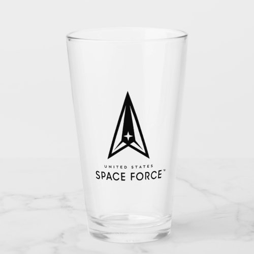 United States Space Force Glass