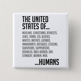 United States Square Button