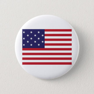 United States Star Spangled Banner Flag Button