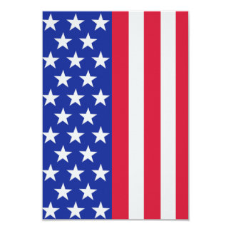 United states stars and stripes flag card