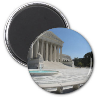 United States Supreme Court Building 2 Inch Round Magnet
