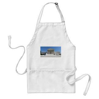 United States Supreme Court Building Adult Apron