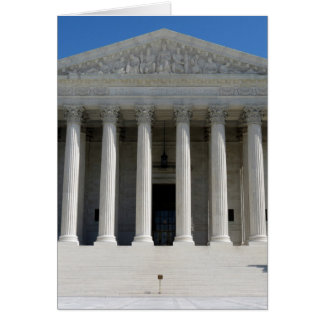 United States Supreme Court Building Card