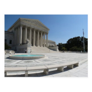 United States Supreme Court Building Postcard