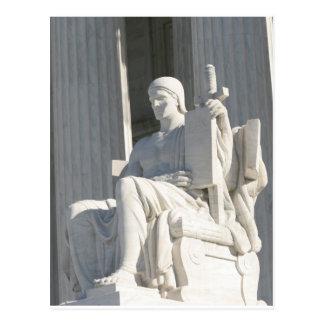 United States Supreme Court Building Postcard