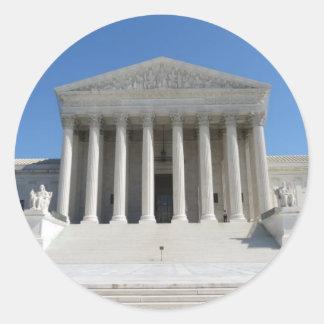 United States Supreme Court Building Sticker
