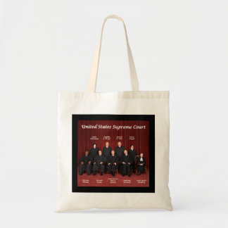 United States Supreme Court Justices Canvas Bag