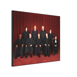 United States Supreme Court Justices Gallery Wrapped Canvas