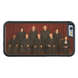 United States Supreme Court Justices Carved Maple iPhone 6 Bumper Case
