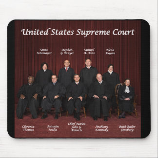 United States Supreme Court Justices Mouse Pad