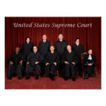 United States Supreme Court Justices Posters