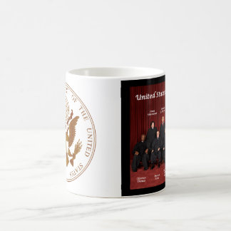 United States Supreme Court Justices & Seal Coffee Mug