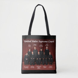 United States Supreme Court Justices Tote Bag