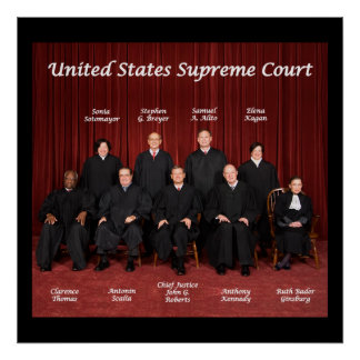 United States Supreme Court Poster