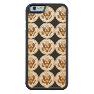 United States Supreme Court Seal Carved Maple iPhone 6 Bumper Case