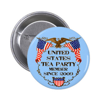 United States Tea Party Button