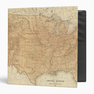 United States topographical features Binders