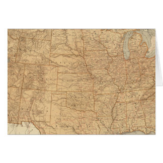 United States topographical features Cards
