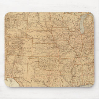 United States topographical features Mousepad