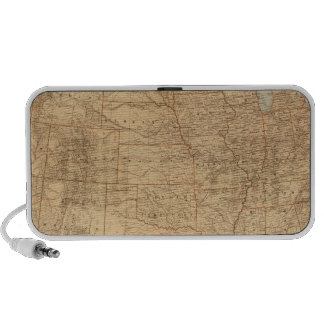 United States topographical features Laptop Speakers